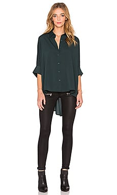 Bishop + Young Dolman Blouse en Vert