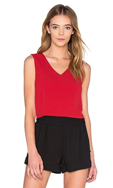 Rosie Deep V Neck Top