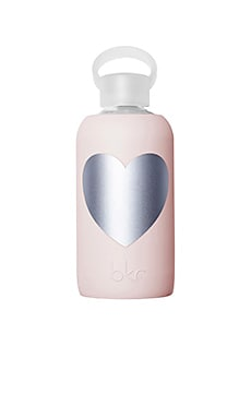 Silver Tutu Heart 500ml Water Bottle