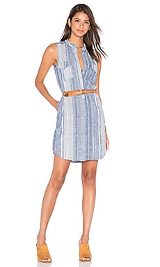 Stripe Button Up Dress