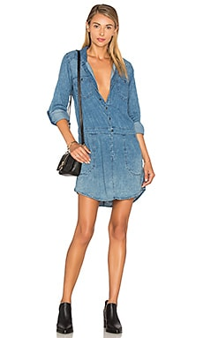 BLANKNYC Button Front Dress in Swagway