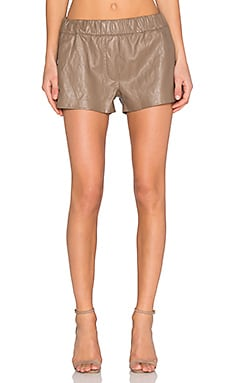 BLANKNYC Faux Leather Short in Female Persuasion