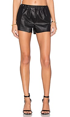 BLANKNYC Faux Leather Short in Pussy Cat