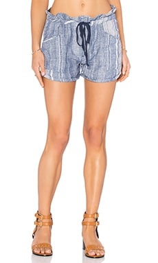 BLANKNYC Drawstring Stripe Short in Out of Spite