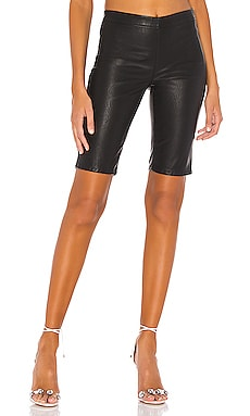 Vegan Leather Bike Short BLANKNYC $62