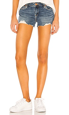 Medium Indigo Astor Cut Off Short BLANKNYC $78