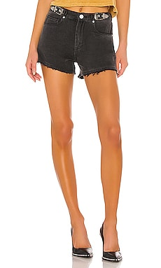 The Barrow Vintage High Rise Denim Short BLANKNYC $77