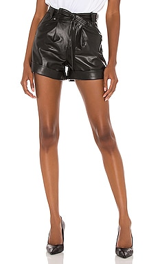 Vegan Leather Tailored Short BLANKNYC $88