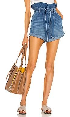 Denim Paperbag Waist Short BLANKNYC $88
