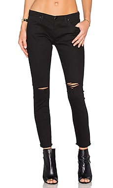 Distressed Skinny in Crazy Train