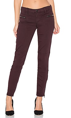 Zip Moto Skinny in Wine O' Clock
