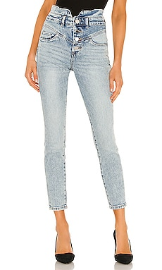Exposed Button Skinny BLANKNYC $128