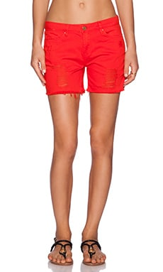 BLANKNYC Short in Crimson