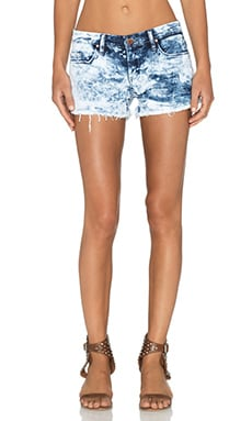 BLANKNYC Acid Wash Cut Off Short in Schwing