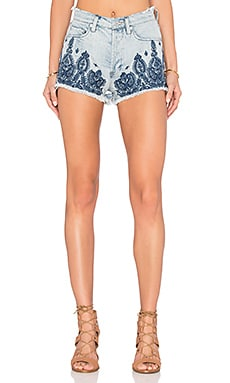 Embroidered Short en Home Sweet Home