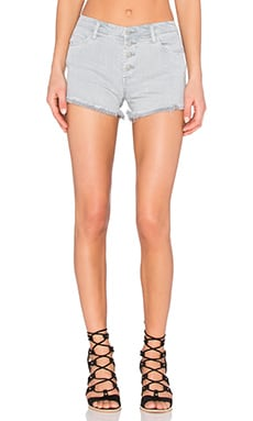 BLANKNYC Button Front Short in Plan C