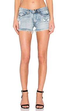 Distressed Cut Off Short