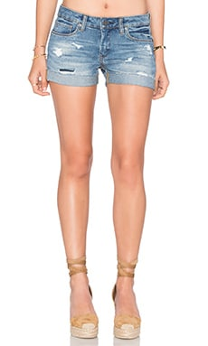 Distressed Short in Weekend Warrior
