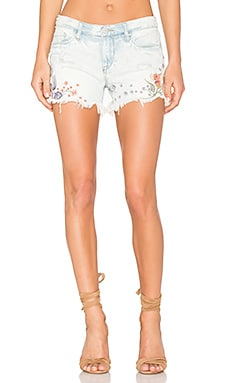 Embroidered Short in Sitting Pretty