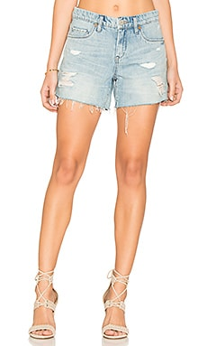 Distressed Short in Rip Off