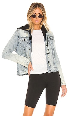 BLOUSON EN JEAN CASUAL ENCOUNTER BLANKNYC $128
