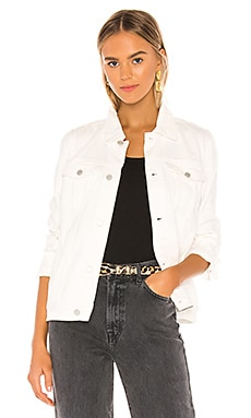 White Denim Trucker Jacket BLANKNYC $69