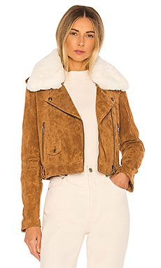 Faux Fur Moto Jacket BLANKNYC $218 NEW ARRIVAL