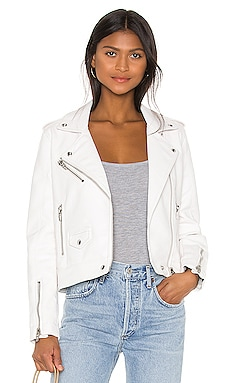 Vegan Leather Moto Jacket BLANKNYC $98