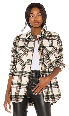 Flannel Shacket BLANKNYC $98