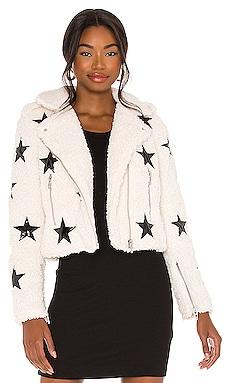 Faux Fur Moto Jacket BLANKNYC $148