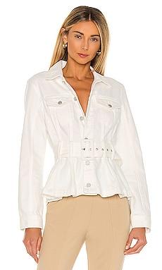 X REVOLVE Belted Denim Jacket in Head BLANKNYC $128