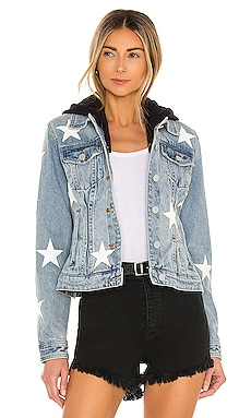 X REVOLVE Twofer Star Jacket BLANKNYC $128