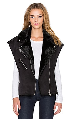 BLANKNYC Moto Vest in Wild Child