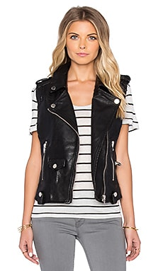 BLANKNYC Moto Vest in Evil Ways