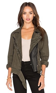 BLANKNYC Moto Jacket in Walk the Plank