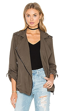 Moto Jacket in Beat the Clock