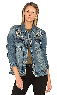 Denim Jacket in Summertime Blues