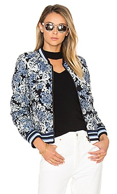 Floral Bomber Jacket en Most Wanted