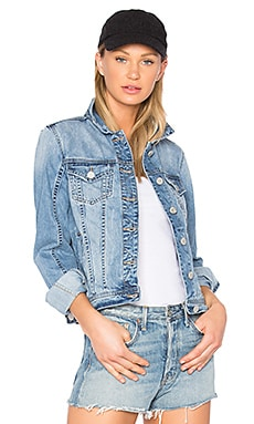 Denim Jacket in Rocket Fuel