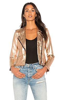 Metallic Moto Jacket BLANKNYC $58