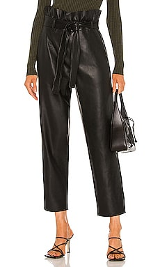 Paperpag Waist Vegan Leather Pant BLANKNYC $108