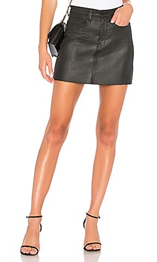Frayed Edge Mini Skirt BLANKNYC $78