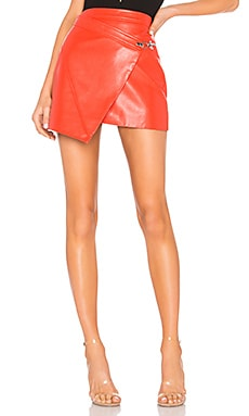 dc4a56210 Faux Leather Wrap Skirt BLANKNYC $57 ...