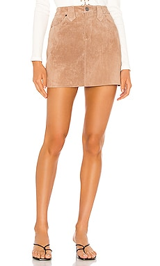 Suede Mini Skirt BLANKNYC $98