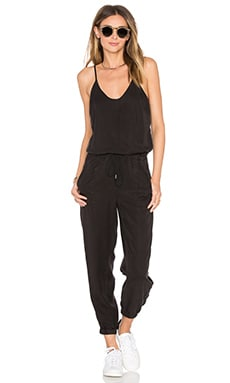 BLANKNYC V Neck Jumpsuit in Faded