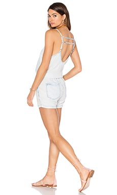 BLANKNYC Sleeveless Romper in Up in the Air