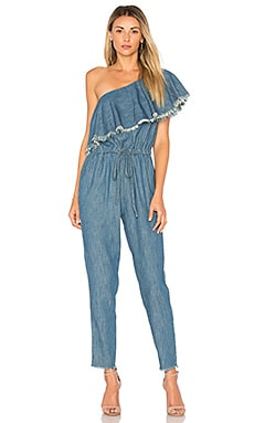 Fray One Shoulder Jumpsuit