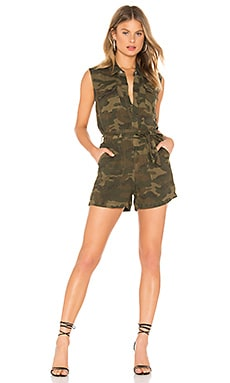 Camo Playsuit BLANKNYC $59