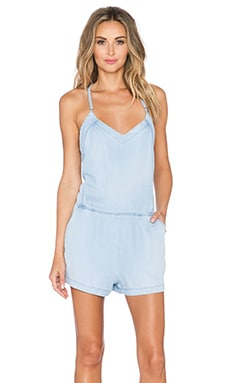 BLANKNYC Y-Back Romper in Keep The Lights On