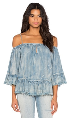 BLANKNYC Cold Shoulder Top in Next in Line